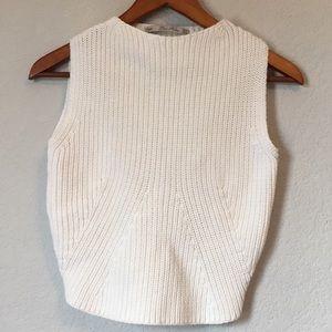 Zara Sweater crop top